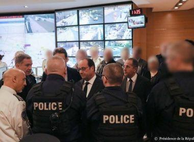 Homem é preso após ameaçar policiais com faca em estação de trem de Paris