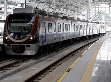Metrô entra em fase de pré-operação até Pituaçu; inauguração oficial ocorrerá em maio