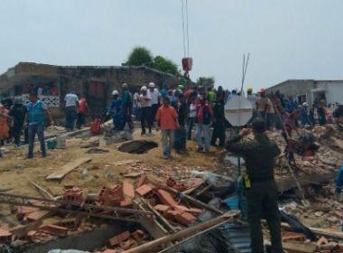 Sobe para 18 número de mortos em desabamento de edifício na Colômbia