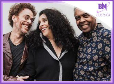 Destaque em Cultura: Gilberto Gil anuncia shows com Gal Costa e Nando Reis