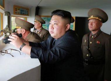 Coreia do Norte realiza novo teste de míssil; projétil cai no Mar do Japão