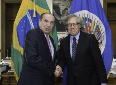 PSDB apoia e sustentará o governo, assegura ministro Aloysio Nunes