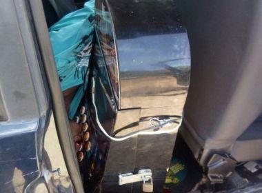 Homem é morto a tiros em Feira de Santana; polícia encontra máquina caça-níquel