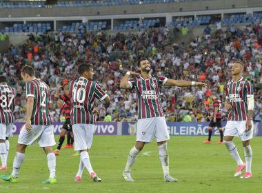 Vitória perde para o Fluminense e permanece na zona de rebaixamento da Série A