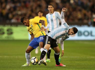 PRIMEIRA DERROTA DE TITE: ARGENTINA VENCEU O BRASIL