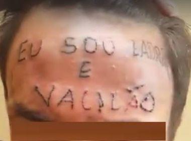 Polícia prende responsáveis por tatuar 'eu sou ladrão e vacilão' na testa de adolescente
