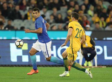 Com direito a gol relâmpago, Brasil passeia no 2° tempo e goleia a Austrália