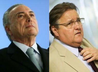 Em depoimento à PF, Funaro cita pagamento de comissões a Temer e Geddel