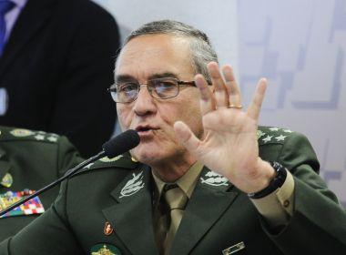 Comandante do Exército critica uso de militares na segurança pública: 'Sociedade doente'
