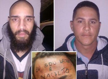 MP denuncia dupla suspeita de tatuar 'ladrão e vacilão' em testa de adolescente
