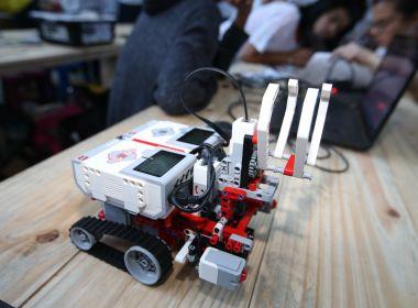 Campus Party: Estudantes da rede estadual vencem etapa baiana da Olimpíada de Robótica