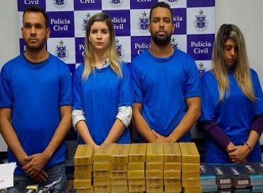 Polícia prende quatro envolvidos em golpe de venda ilegal de botox