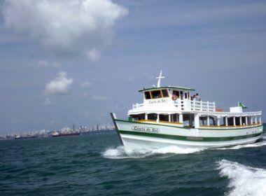 Com ventos fortes e mar agitado, travessia Mar Grande - Salvador continua suspensa