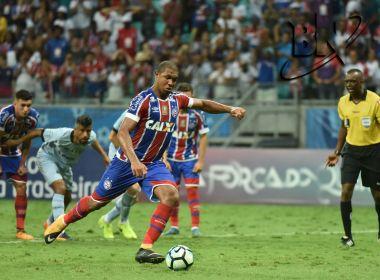 No apagar das luzes, Bahia vence o Grêmio e se afasta do Z-4