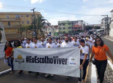 Caminhada em direção à Igreja do Bonfim encerra Semana Nacional do Trânsito na Bahia