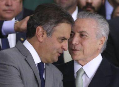 Temer libera R$ 200 milhões em emendas orçamentárias para livrar Aécio, diz blog