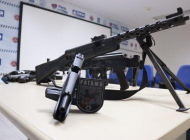 Polícia apreende armas avaliadas em meio milhão de reais no Litoral Norte