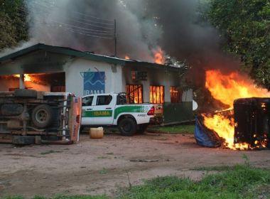 Exército e PF reforçam segurança após ataques ao Ibama e ICMBio no AM