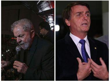 Lula e Bolsonaro lideram corrida para presidente em 2018, aponta Ibope