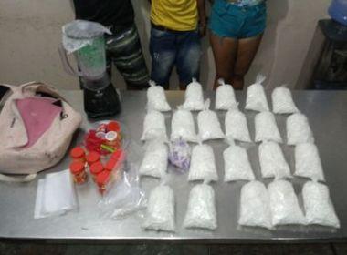 Operação apreende três mil pinos de cocaína em Pernambués e frustra tentativa de suborno