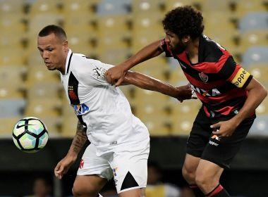 Com gol nos acréscimos, Vitória arranca empate diante do Vasco