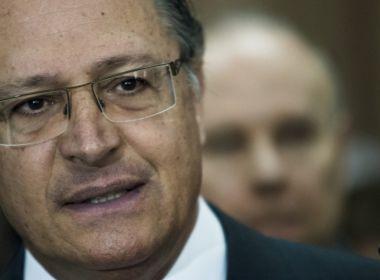 Sobre eleições de 2018, Alckmin afirma que eleitores votarão em pessoas e não em partidos