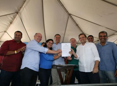 Campo Formoso: Rui Costa anuncia construção de escola na zona rural da cidade