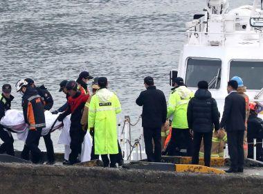 Colisão entre embarcações deixa 13 mortos e outros desaparecidos na Coreia