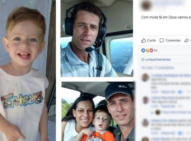 FAB localiza corpos de família que desapareceu junto a destroços de avião