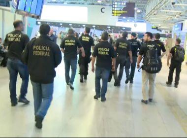 PF cumpre 36 mandados no Galeão contra esquema de corrupção e tráfico