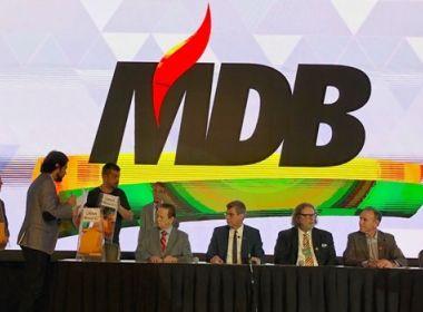 Para fugir de rejeição, PMDB aprova mudança para MDB; nome era usado na ditatura