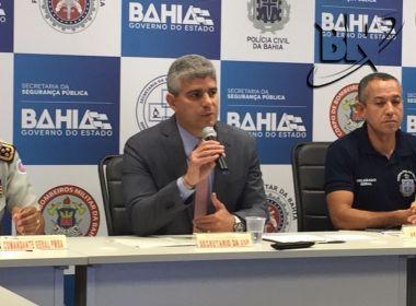 Apreensão de fuzis na Bahia subiu 285% em 2017; total de armas de fogo chegou a 8 mil