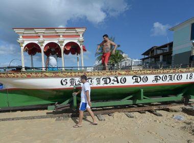 Com missa e procissão, católicos baianos celebram Bom Jesus dos Navegantes