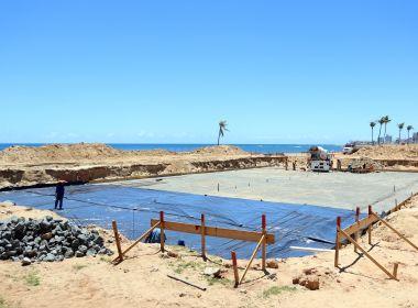 Piscina olímpica tem 35% da obra concluída; equipamento será instalado na Pituba