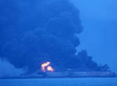 Colisão entre navios deixa 32 desaparecidos na costa da China