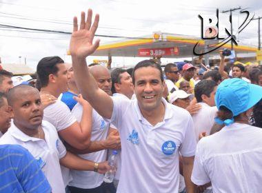 Eventual substituto de Neto, Bruno Reis diz que pedido a Senhor do Bonfim 'ajuda muito'