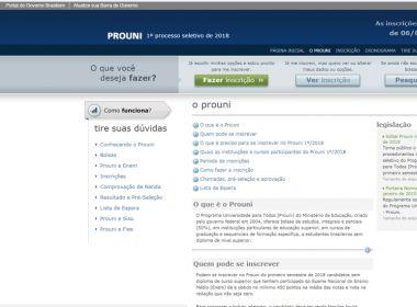 Inscrições para o ProUni encerram nesta sexta; mais de 1 milhão se inscreveram até quinta