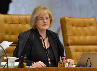 Rosa Weber nega ações para barrar intervenção federal no Rio
