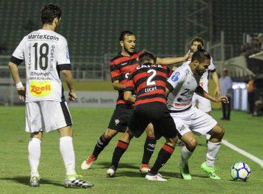 Vitória perde para o Bragantino e sai em desvantagem na terceira fase da Copa do Brasil
