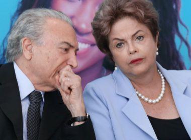 As dificuldades de Dilma e Temer