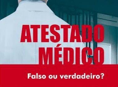 Médico lança livro sobre implicações de atestado falso