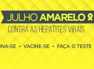 Sesab promove ações do Dia Mundial de Prevenção das Hepatites Virais