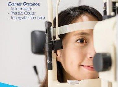 Clínica oferece exames oftalmológicos gratuitos no Salvador Shopping