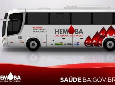 Unidades móveis do Hemoba recebem doadores em shoppings de Salvador