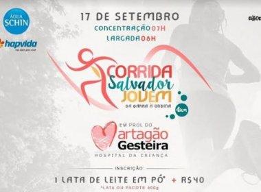 Corrida Salvador Super Jovem acontece na Barra em prol do Hospital Martagão Gesteira