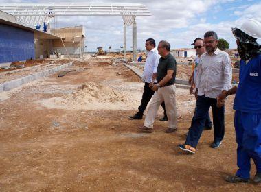 Com 70% das obras concluídas, policlínica de Irecê deve ser entregue no 2º semestre