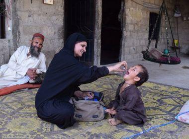 OMS anuncia que apenas 12 casos de poliomielite foram registrados em 2017
